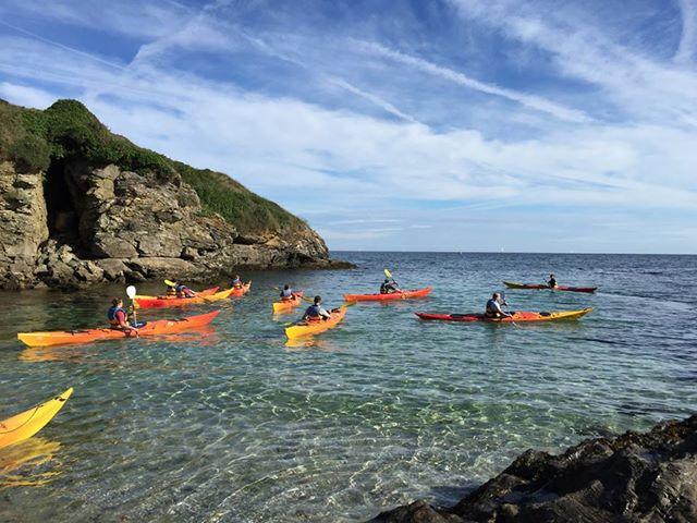 Kayaks de Vives eaux à Belle-Île en Mer Sauzon