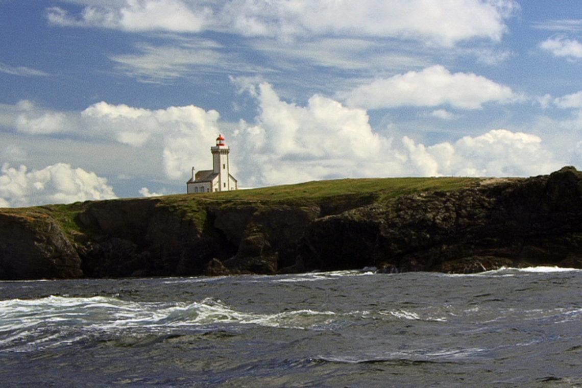 Le phare des Poulains à Belle Ile en Mer