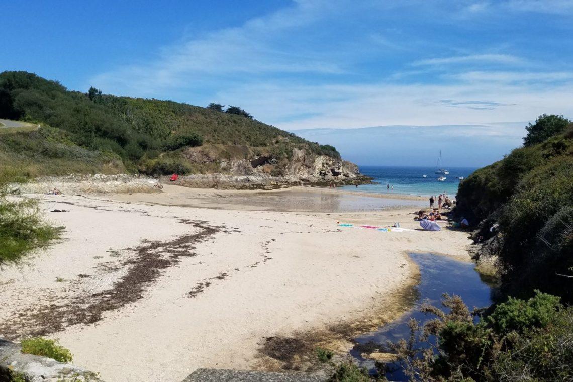 belle ile en mer plage de port guen maison 0359