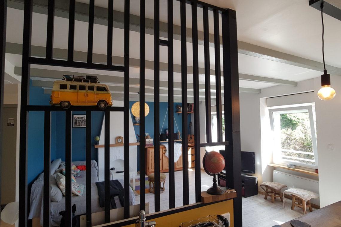 belle ile en mer verrière cuisine appartement 0227
