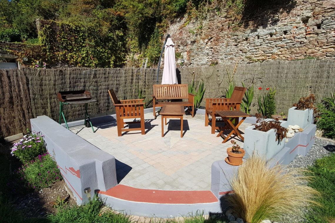 belle ile en mer terrasse jardin appartement 0227